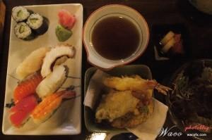 Sushi and Tempuara Set