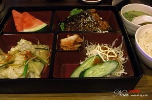 Salmon Teriyaki Set Lunch