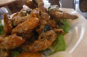 Basil butter prawn (香叶奶油虾)