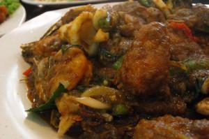 Pad Ped Seafood (泰式巴劈海鲜)