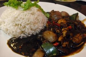 Black Pepper Chicken Set Meal