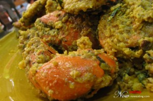 Fried MeatCrab with Salted Egg
